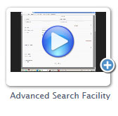 Online tutorial - Advanced Search facility