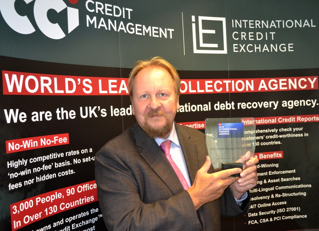 CCICM wins best international agency award