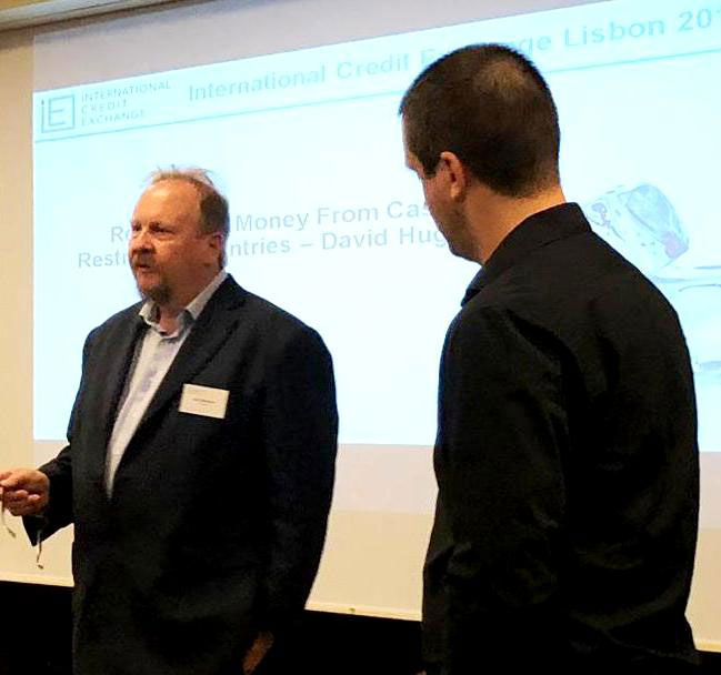 ICE CEO Carl Hackman (left) and Operations Manager David Hughes (right)
